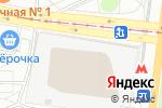 Схема проезда до компании Автостоянка на проспекте Андропова в Москве