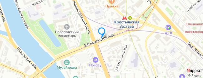 переулок Крутицкий 3-й