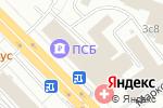 Схема проезда до компании МИГ-point в Москве
