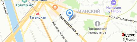Ом Трэвел на карте Москвы
