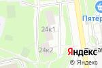 Схема проезда до компании Корпоративные сети М в Москве