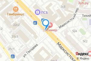 Снять комнату в Москве м. Марксистская, Марксистская улица