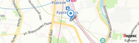 Сотта на карте Москвы