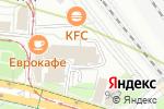 Схема проезда до компании ЭНЕРГОТЕХТРАСТ в Москве