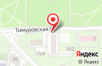 Схема проезда до компании Сапфир-техно в Москве