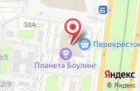 Схема проезда до компании Карусель Эмоций в Москве