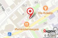 Схема проезда до компании Сотта в Москве