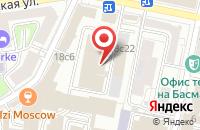 Схема проезда до компании Рейлинфо в Москве