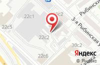Схема проезда до компании Фрилант в Москве