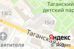 Схема проезда до компании Пространство и Право в Москве