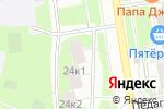 Схема проезда до компании Лекрус в Москве