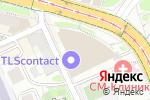 Схема проезда до компании Nikon Professional Services в Москве