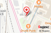 Схема проезда до компании Евроартстрой в Москве
