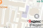 Схема проезда до компании Sterh Consulting Service в Москве