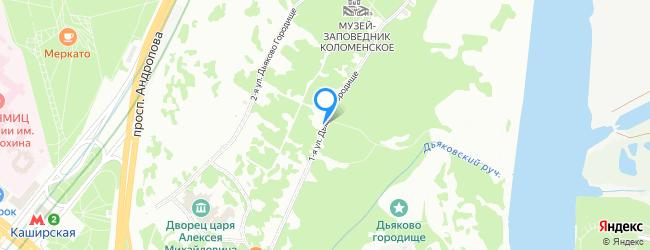 улица Дьяково Городище 1-я