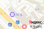 Схема проезда до компании Дикарт в Москве