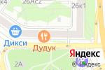 Схема проезда до компании Newporte в Москве