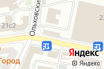 Схема проезда до компании Столовая на Новорязанской в Москве