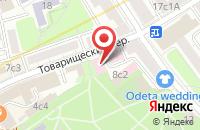 Схема проезда до компании Нир Лтд в Москве