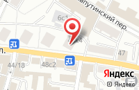 Схема проезда до компании Фокскард в Москве