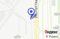 Схема проезда до компании ТФ БЕЛСТЕ в Москве