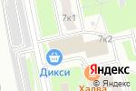 Схема проезда до компании Островок Детства в Москве