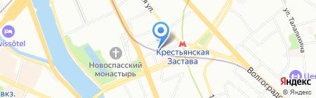 Адмирал Бенбоу на карте Москвы