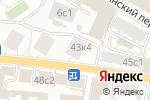 Схема проезда до компании Bright Brush в Москве