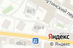 Схема проезда до компании АВС консалт в Москве
