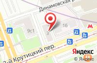 Схема проезда до компании Марс+ в Москве