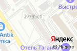Схема проезда до компании Dresscoat в Москве