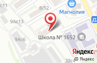 Схема проезда до компании Артгентум в Москве