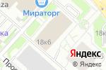 Схема проезда до компании Провими в Москве