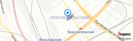 Столичный экспресс на карте Москвы