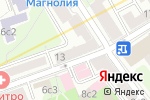 Схема проезда до компании Nail box shop в Москве