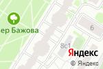 Схема проезда до компании Группа инженерно-строительных компаний в Москве