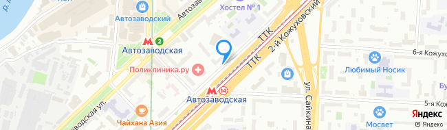 проезд Кожуховский 1-й