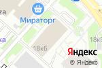 Схема проезда до компании Открытие Факторинг в Москве