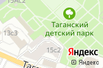 Схема проезда до компании Таганский в Москве