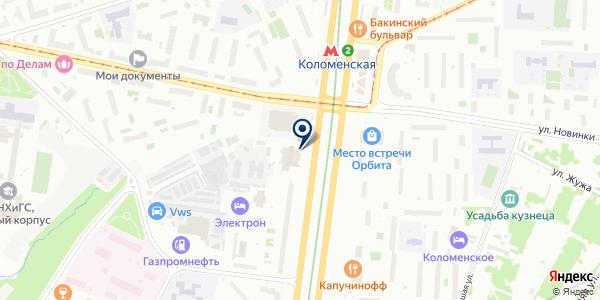 Крымская коллекция на карте Москве
