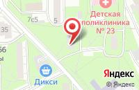 Схема проезда до компании Сфера в Москве