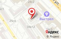 Схема проезда до компании Рекламное Агентство «Прогресс» в Москве