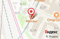 Схема проезда до компании Центр Международных Деловых Программ в Москве