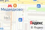Схема проезда до компании ФИНАРС Банк в Москве