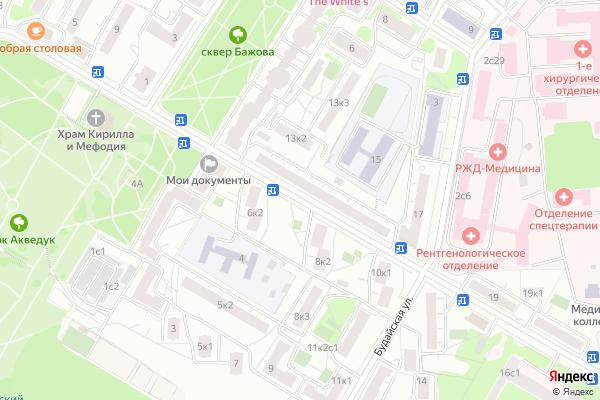 Ремонт телевизоров Улица Малахитовая на яндекс карте