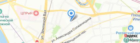 АНКОР на карте Москвы