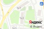 Схема проезда до компании Сетап Сервис в Москве