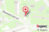 Схема проезда до компании Петрокс в Москве