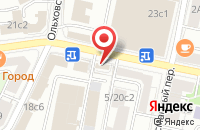 Схема проезда до компании Торговые Технологии в Москве