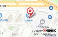 Схема проезда до компании М-Инжиниринг в Москве